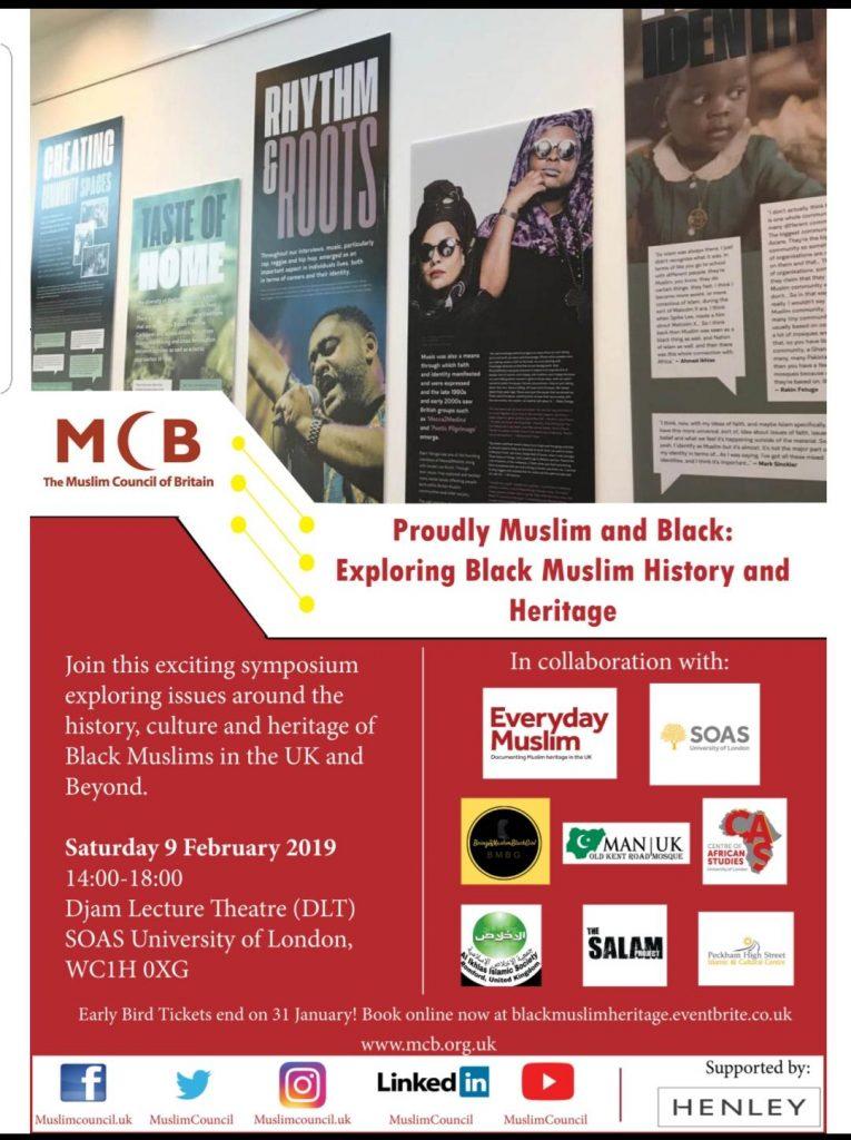 Black muslims Symposium